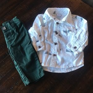 Old Navy Holiday Outfit